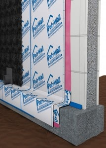 Poly Wall Home Stretch™ Waterproofing Membrane