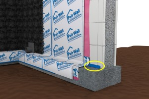 Poly Wall® Blue Barrier™ 2200 Joint Filler