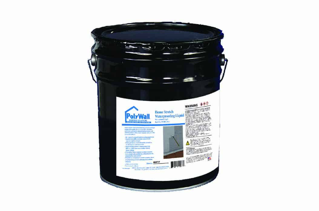 Home Stretch Liquid Waterproofing Membrane Products | Poly Wall